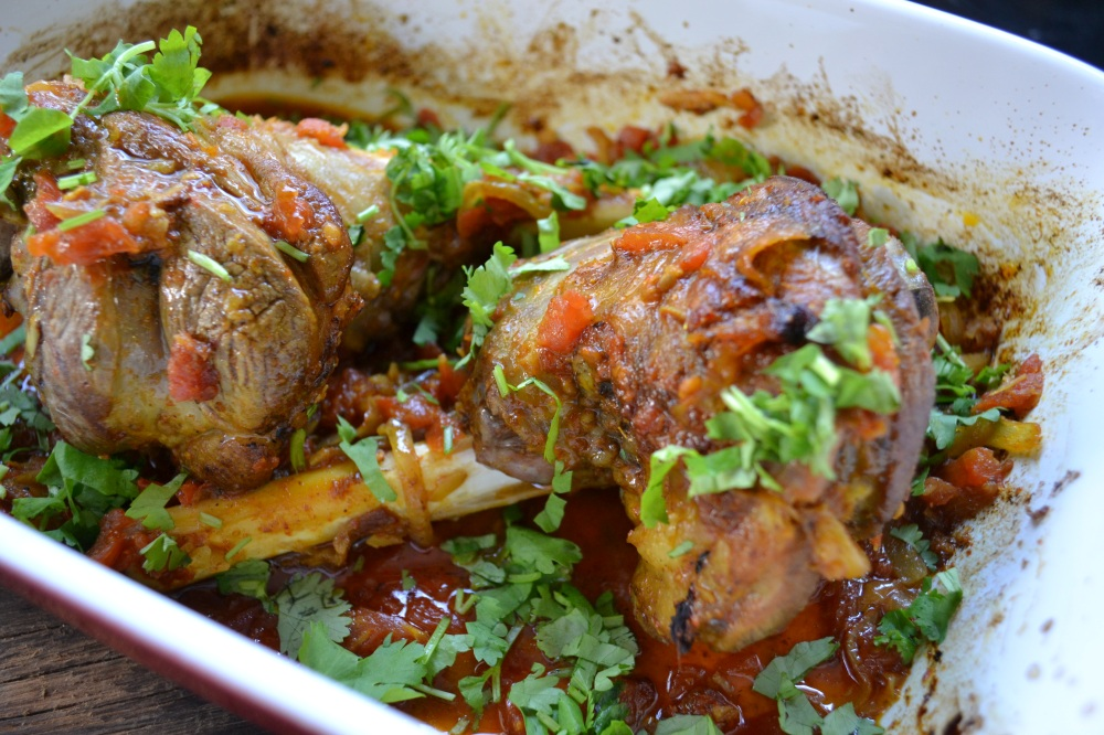 Cumin and Coriander Lamb Shanks