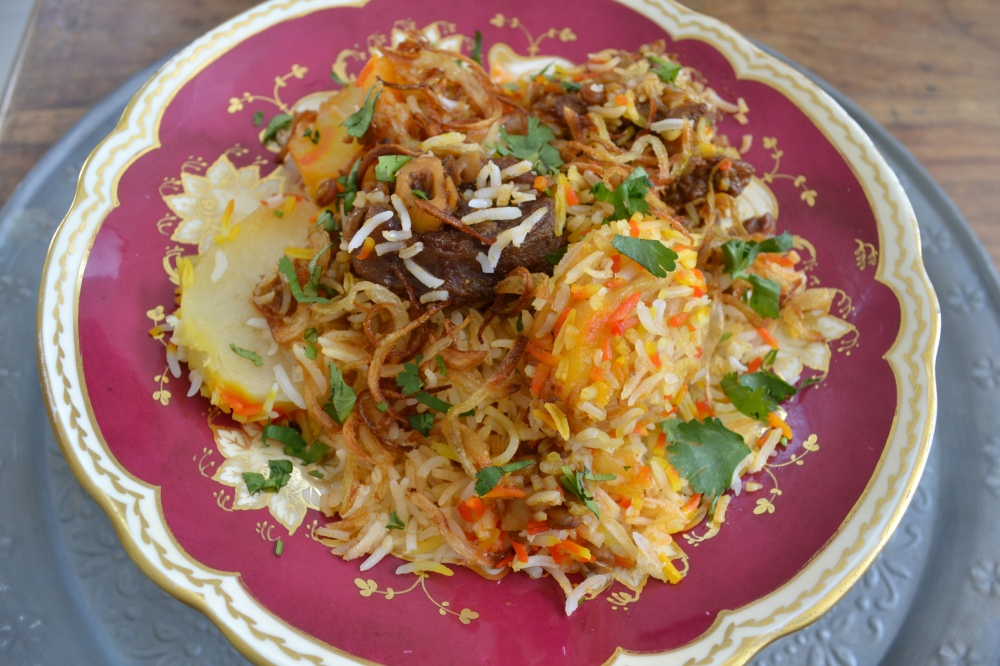 And here it is ....my favourite favourite...Lamb Breyani!