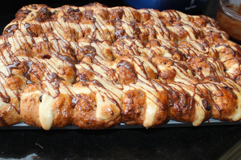 Picture perfect Hot Cross Buns