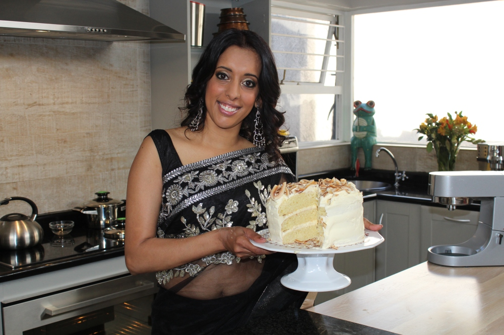 Saffron Coconut Cake from Sugar 'n Spice with Yudhika Sujanani