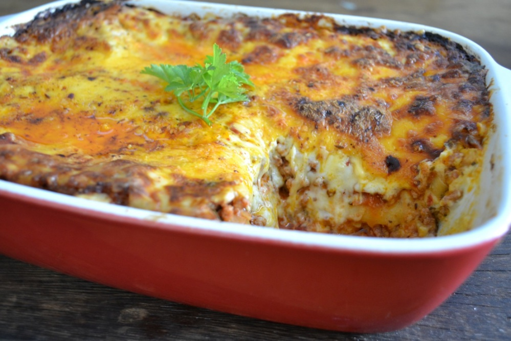 Yudhika's home-made lasagne