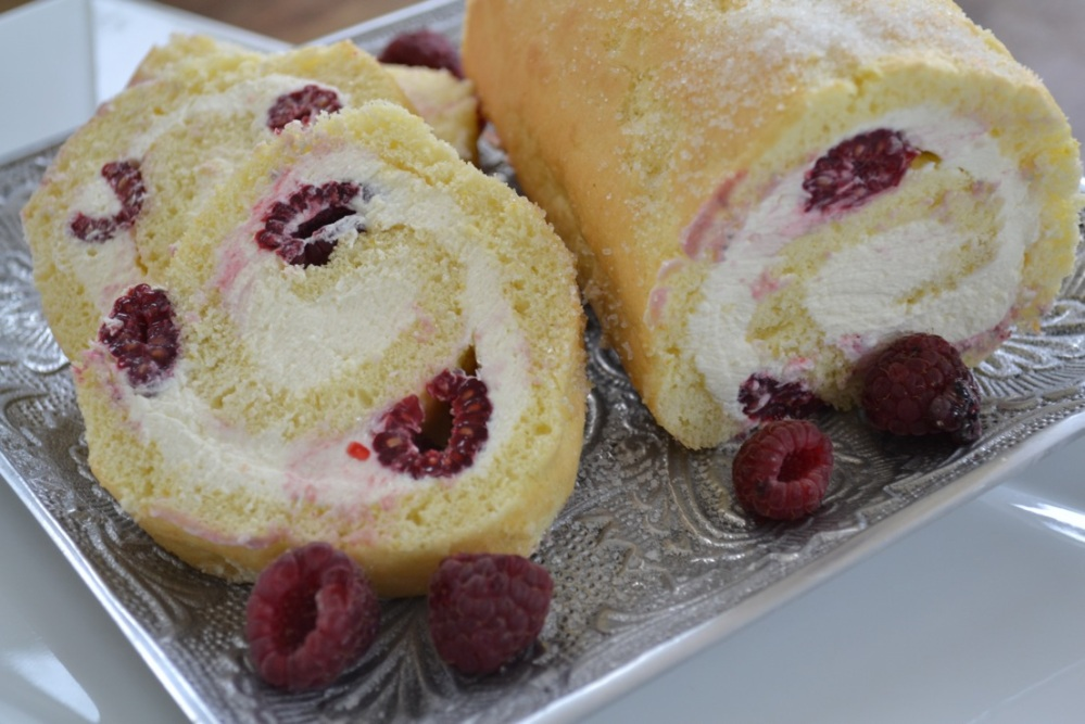 Yudhika's Berry Cream Roll
