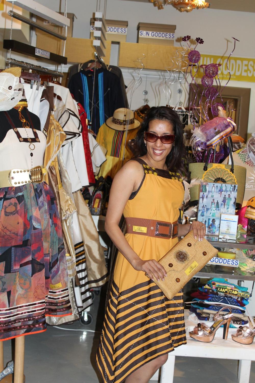 Sun Goddess at Nelson Mandela Square