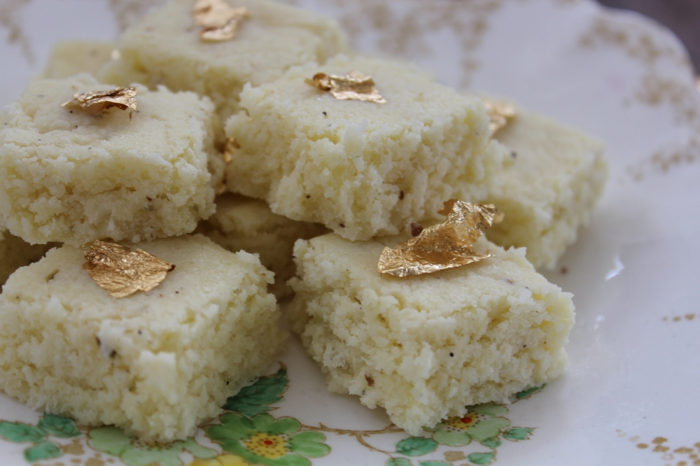Kopra Pak...fudgy coconut squares