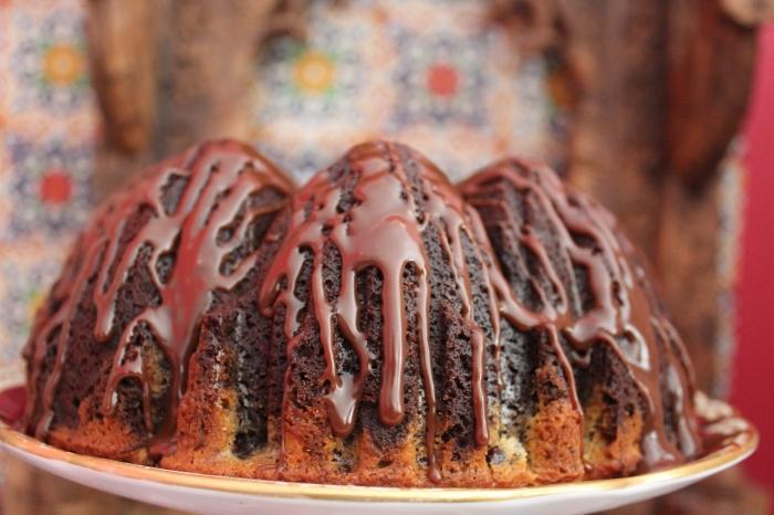 Double Choc Marble Cake by Yudhika Sujanani