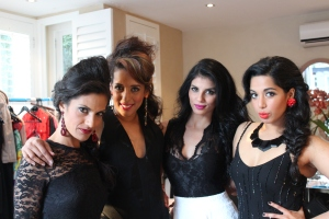 The girls...Yarish, Yudhika,Farrah and Zakeeya...