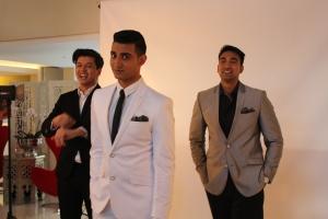 The boys....Mishal Mookrey, Tevin Naidu and Fadeen Mia