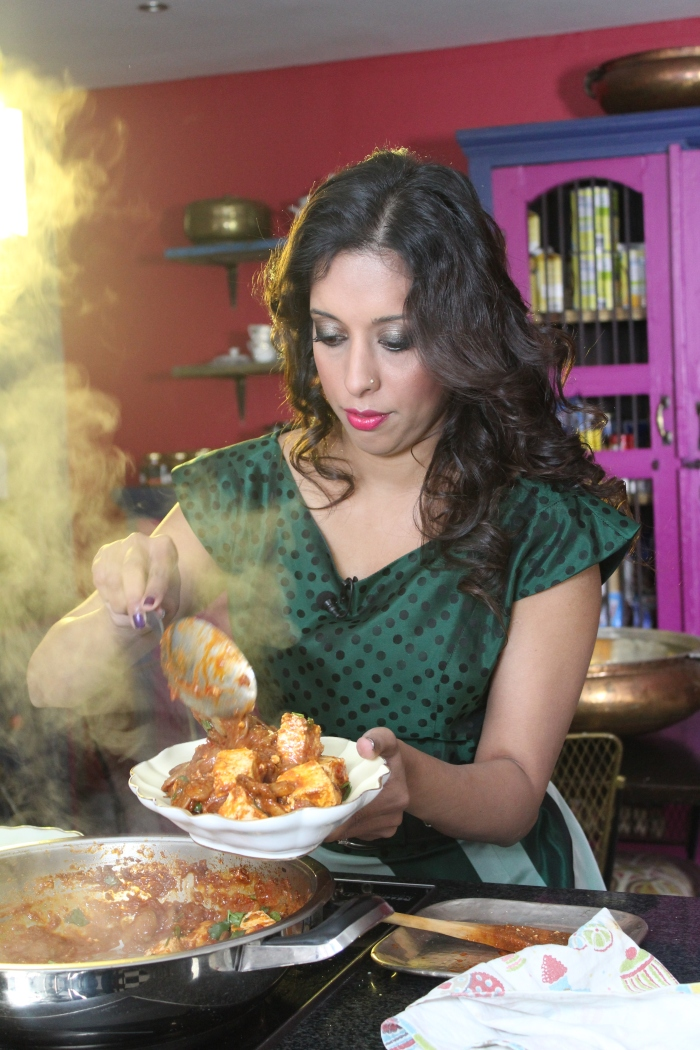 Double Bean Curry with Paneer by Yudhika Sujanani