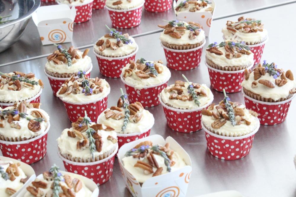 Spring Cupcakes by Yudhika Sujanani