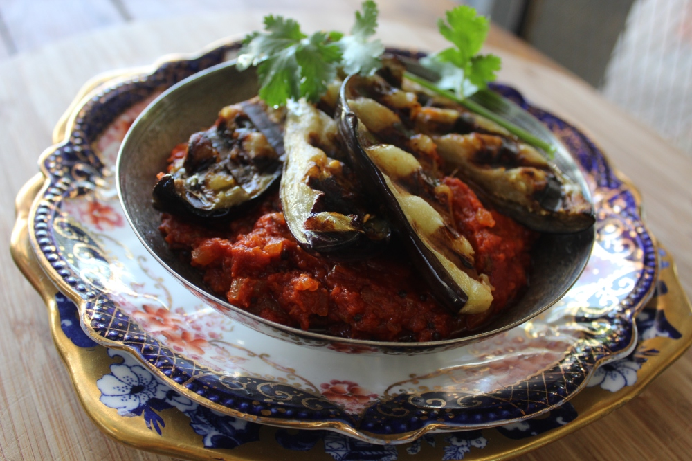 Spicy Brinjals