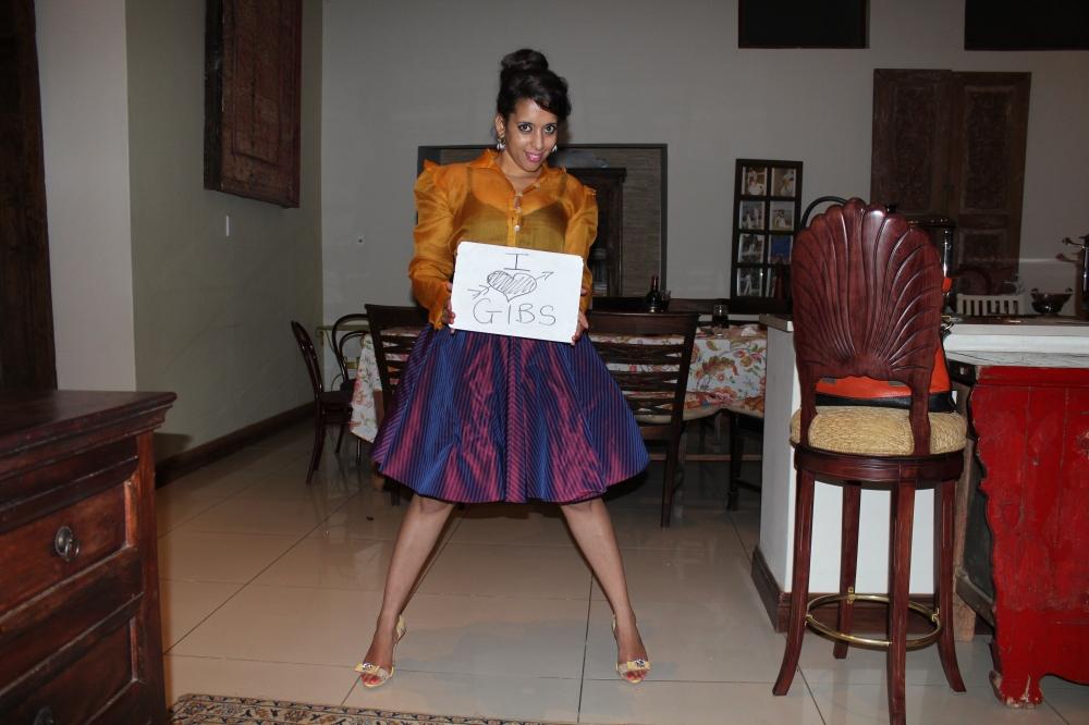 I love Gibs....Yudhika Sujanani