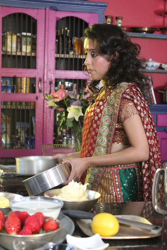 Behind the scenes....Yudhika Sujanani on Mela SABC 2