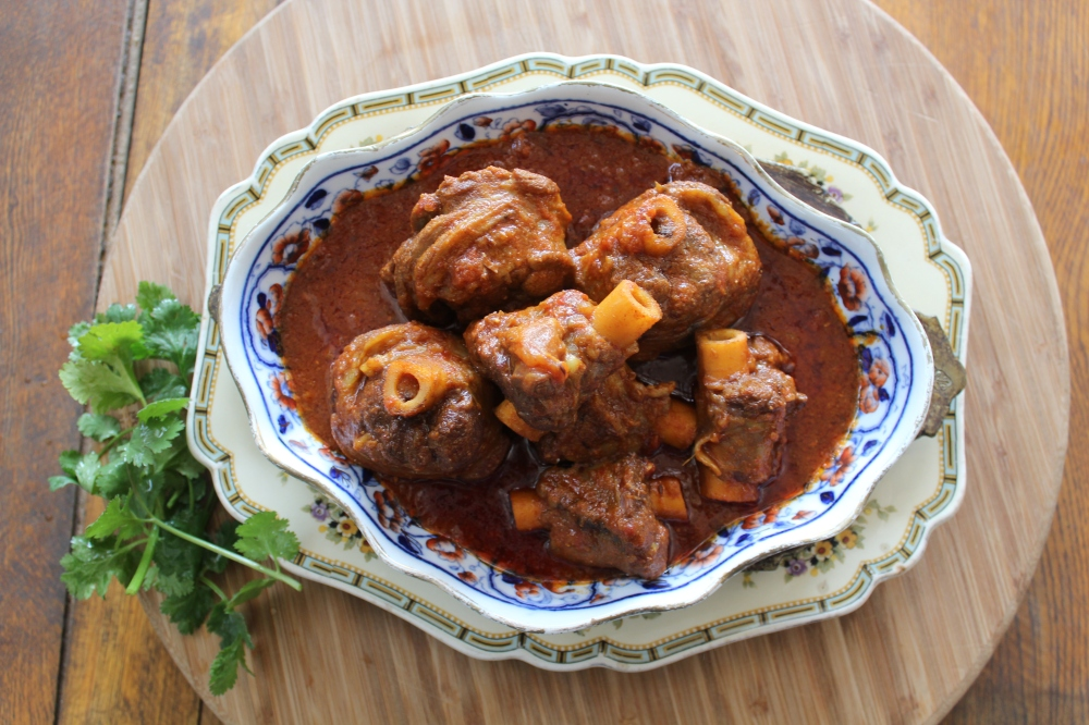 Traditional lamb curry by Yudhika Sujanani