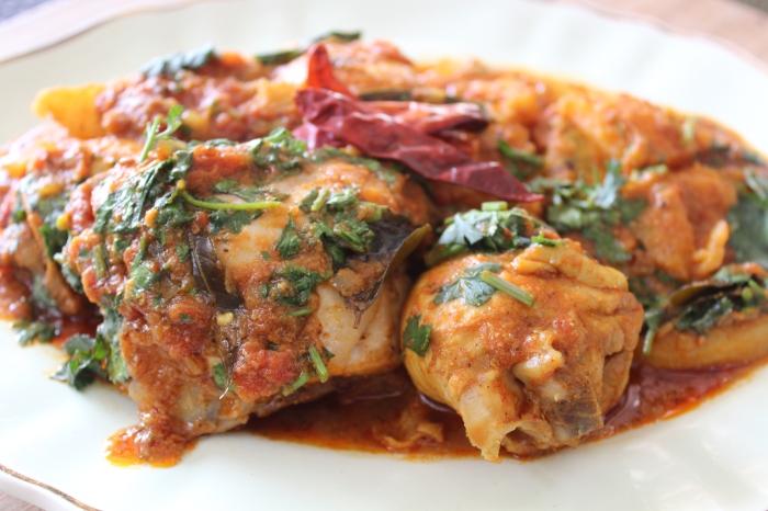 Chicken Vindaloo by Yudhika Sujanani