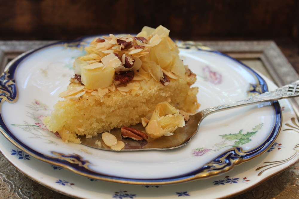 Baklava Semolina Cake by Yudhika Sujanani