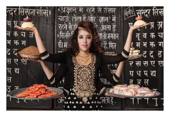Yudhika Sujanani - photographed by Vanessa Lewis