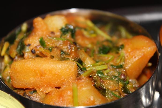 Potato and Methi by Yudhika Sujanani
