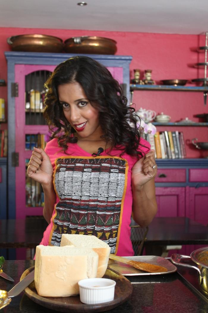 Ready to bunny....Yudhika Sujanani on Mela