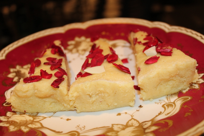 White Chocolate Burfee by Yudhika on SABC2's Mela....
