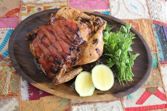 Bling Bling Roast Chicken by Yudhika Sujanani