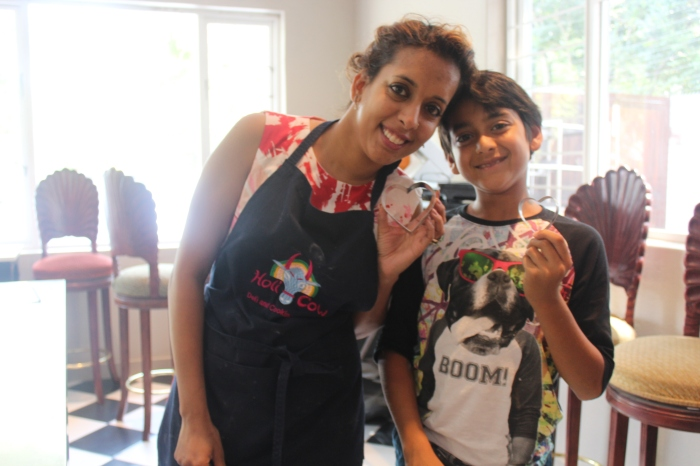 Kitchen fun with Rushil Sujanani...