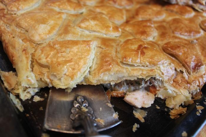 Turkey pie by Yudhika Sujanani....