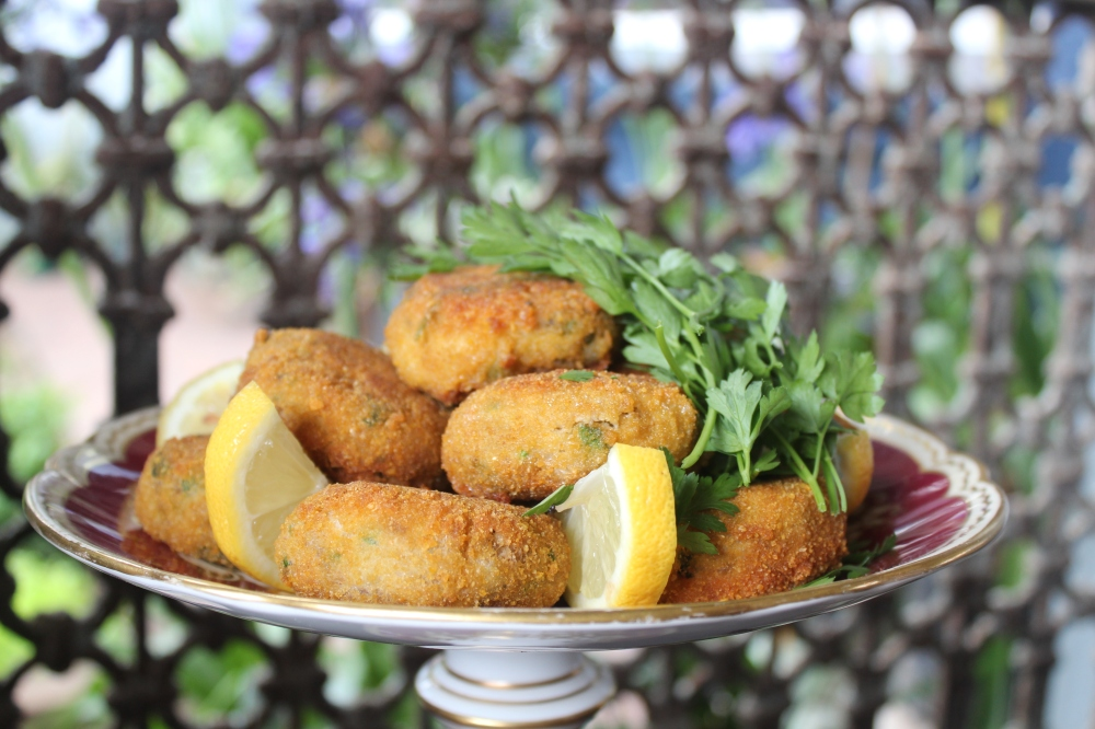 Old fashioned Durban fish cakes by Yudhika Sujanani