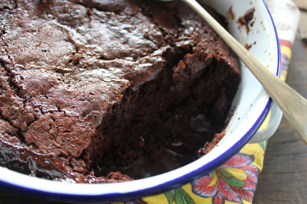 Yudhika Sujanani's Self Saucing Chocolate Pudding