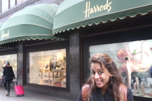 Yudhika's adventure at Harrods