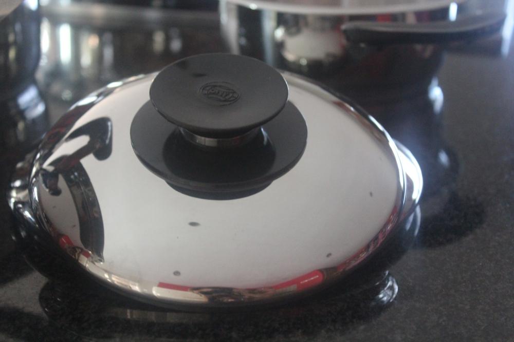The AMC lid after repolishing...