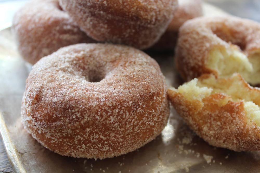 Cinnamon Doughnuts by Yudhika Sujanani