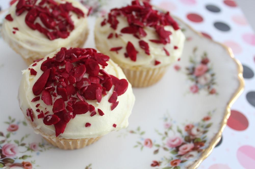 Yudhika's Eggless Burfee Cupcakes...