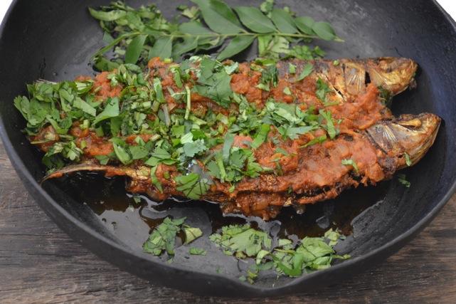 The sardine run...Spicy Sardines by Yudhika Sujanani