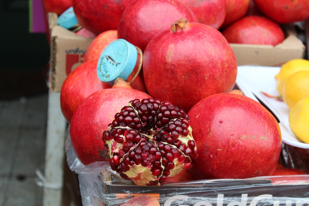 Pomegranates...a persian must have ingredient