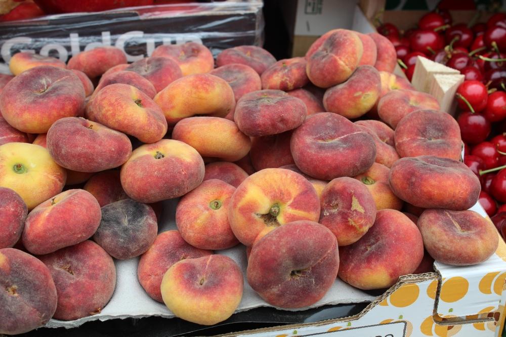 Persian peaches....at Zaman on High Street, Kensington