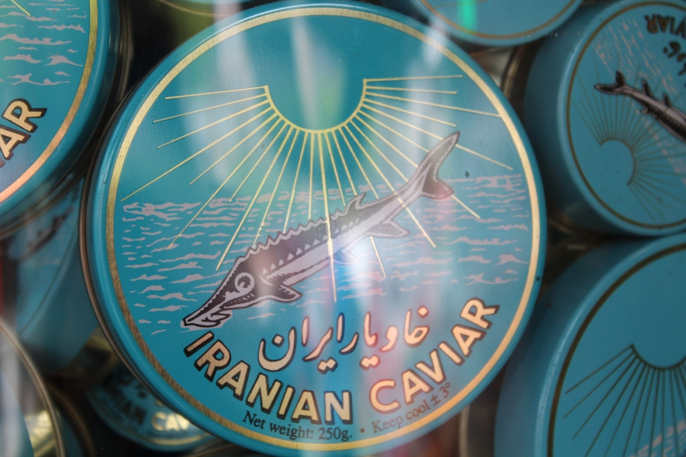 Iranian Caviar...sights and sounds on High Street, Kensington with Yudhika Sujanani