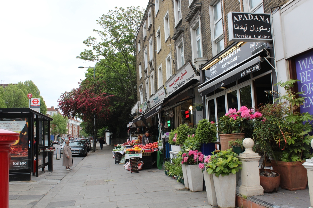 The Iranian/Persian influenced stores on Kensington's High Street with Yudhika Sujanani
