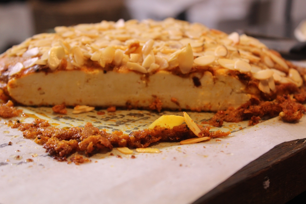 Yudhika prepares Almond Crusted Paneer on the Home Channel's  Sugar & Spice